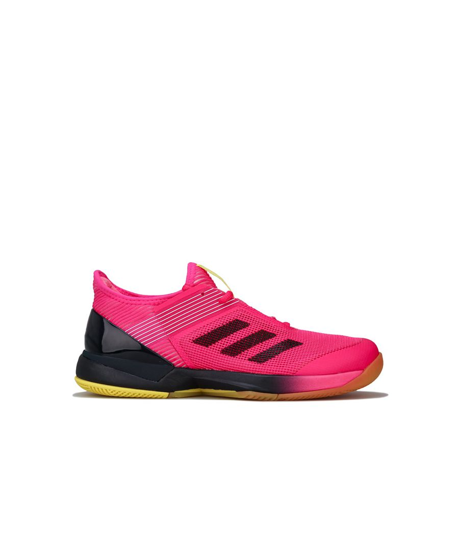 Image for Women's adidas Adizero Ubersonic 3 Trainers in Pink