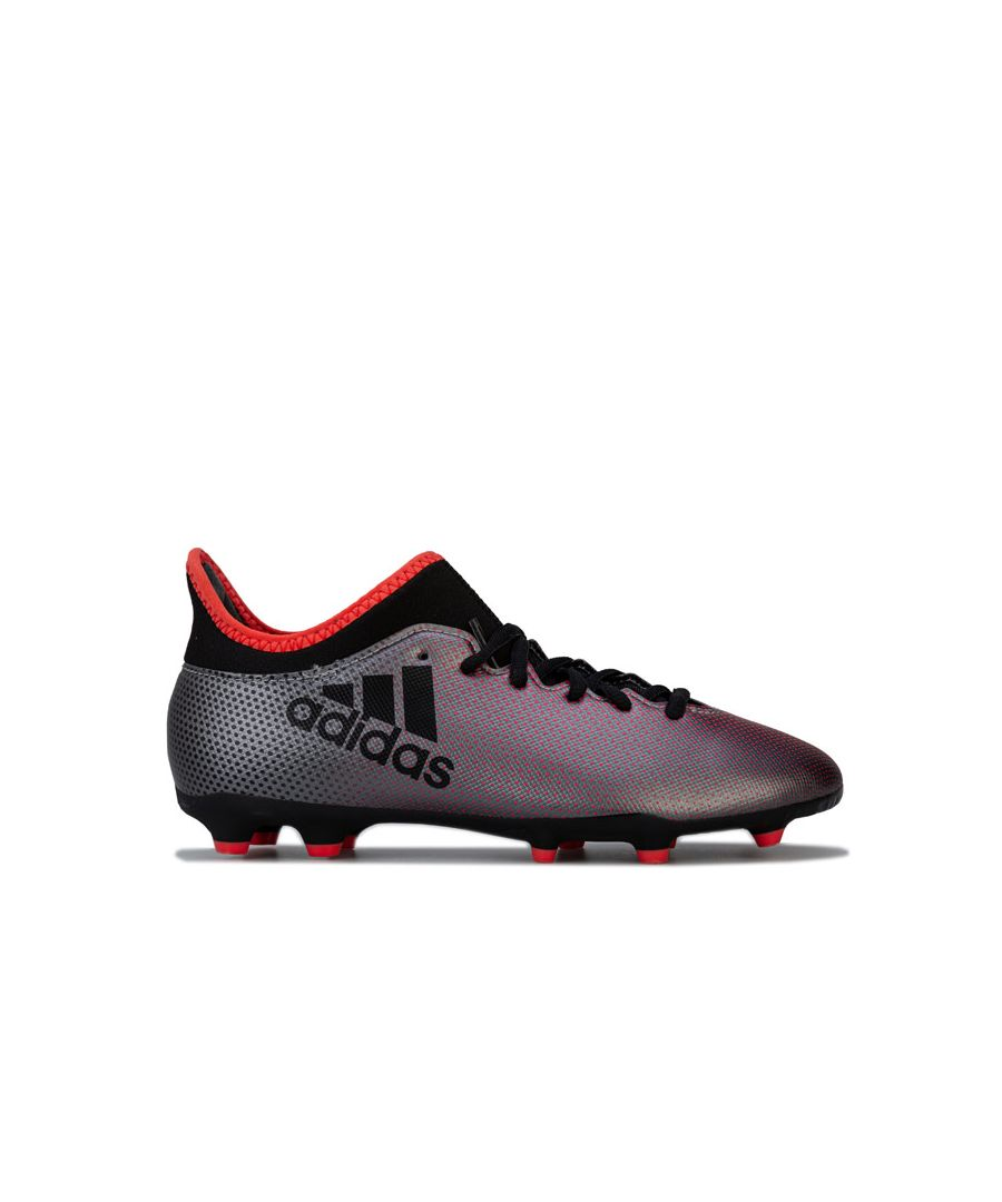 Image for Boy's adidas Junior X 17.3 FG Football Boots in Black