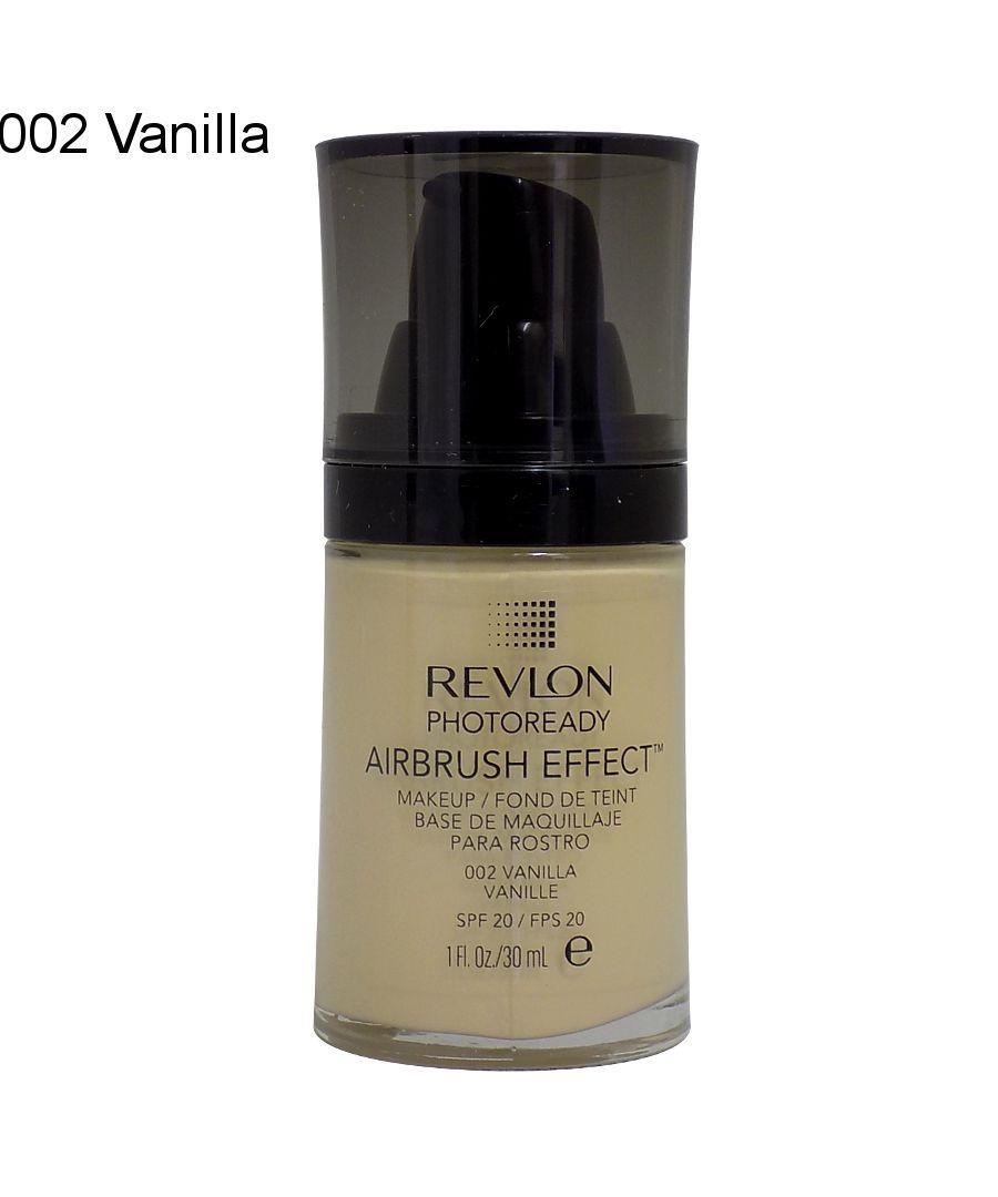 Image for Revlon Photoready Airbrush Effect Make Up SPF20 30ml - 002 Vanilla