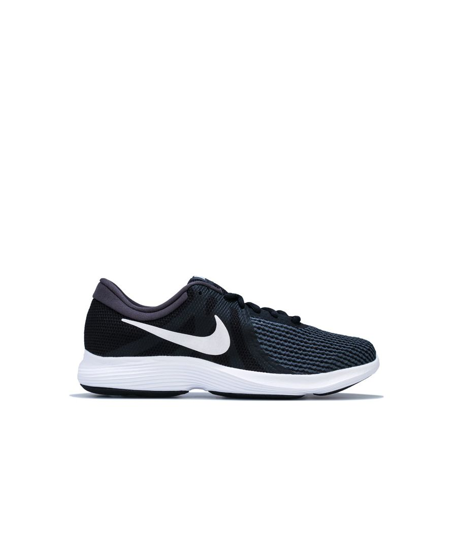 Image for Women's Nike Revolution 4 Running Shoes in Black-White