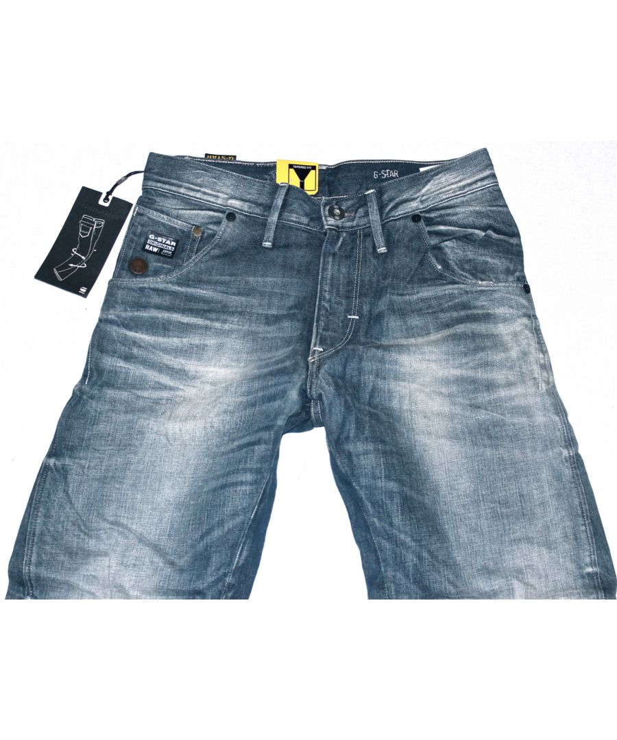 Image for G-Star Arc Loose Tapered Vintage Wash Force Denim Jeans