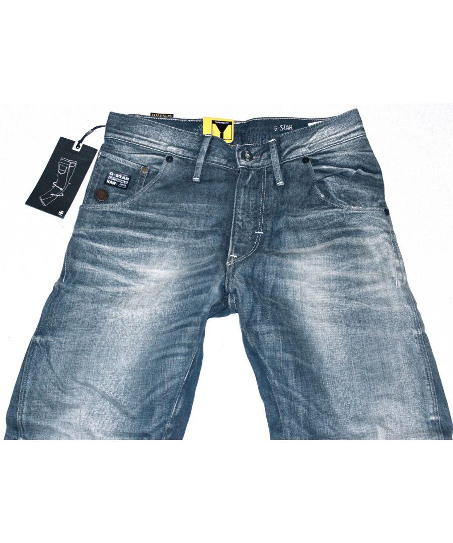 Image for G-Star Arc Loose Tapered Vintage Wash Force Denim Jeans