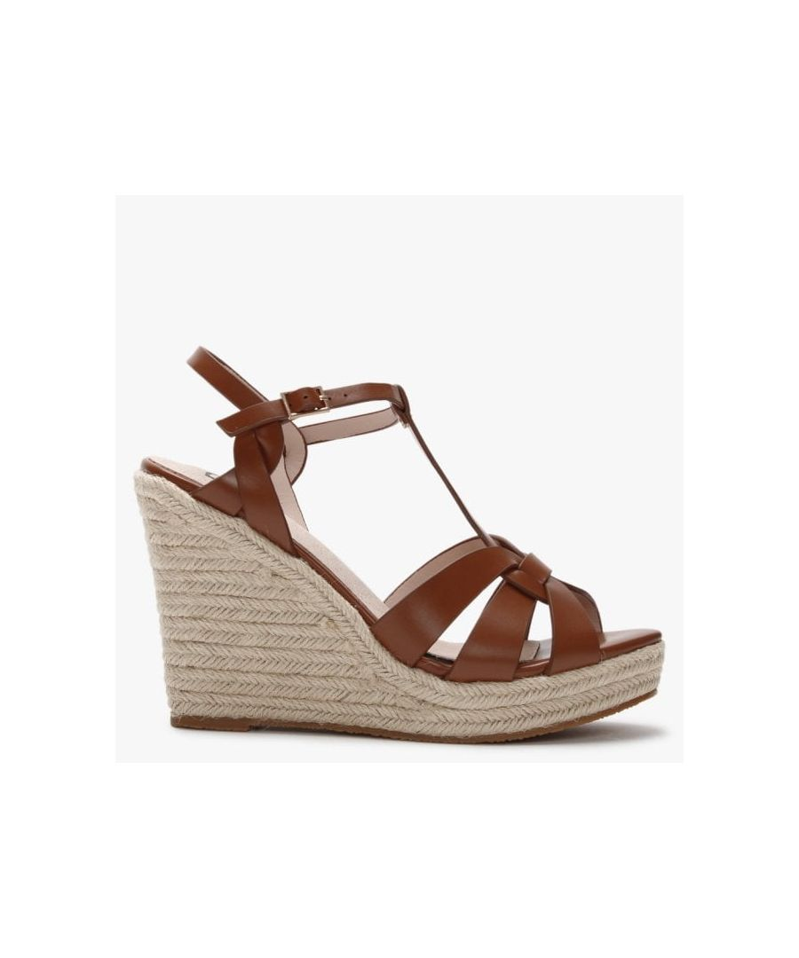 Image for DF By Daniel Amberna Cut Away Espadrille Wedge Sandals