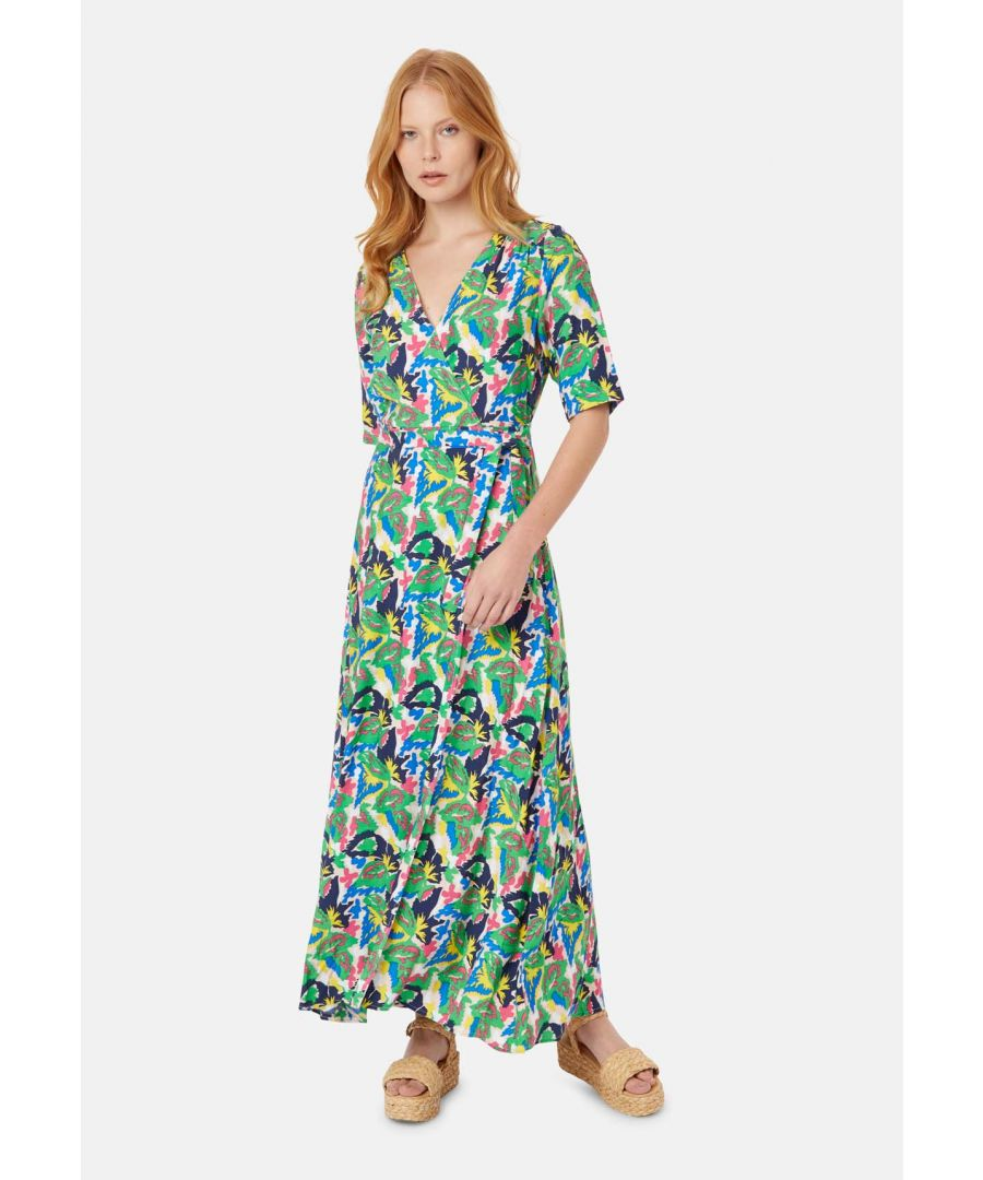 Image for Moment of Madness Maxi Wrap Dress