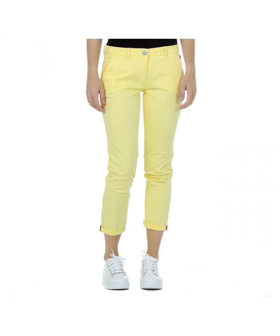 Image for Andrew Charles Womens Pants Yellow PENDA