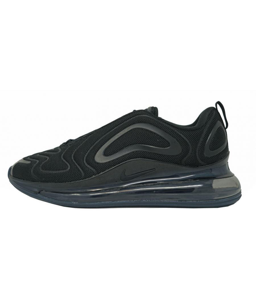 Image for Nike Running Air Max 720 Black Shoes