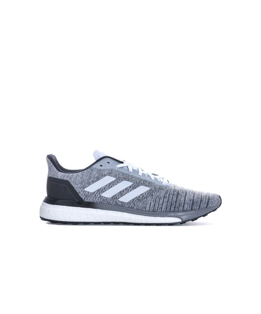 Image for Men's adidas Solar Drive Trainers in Grey White