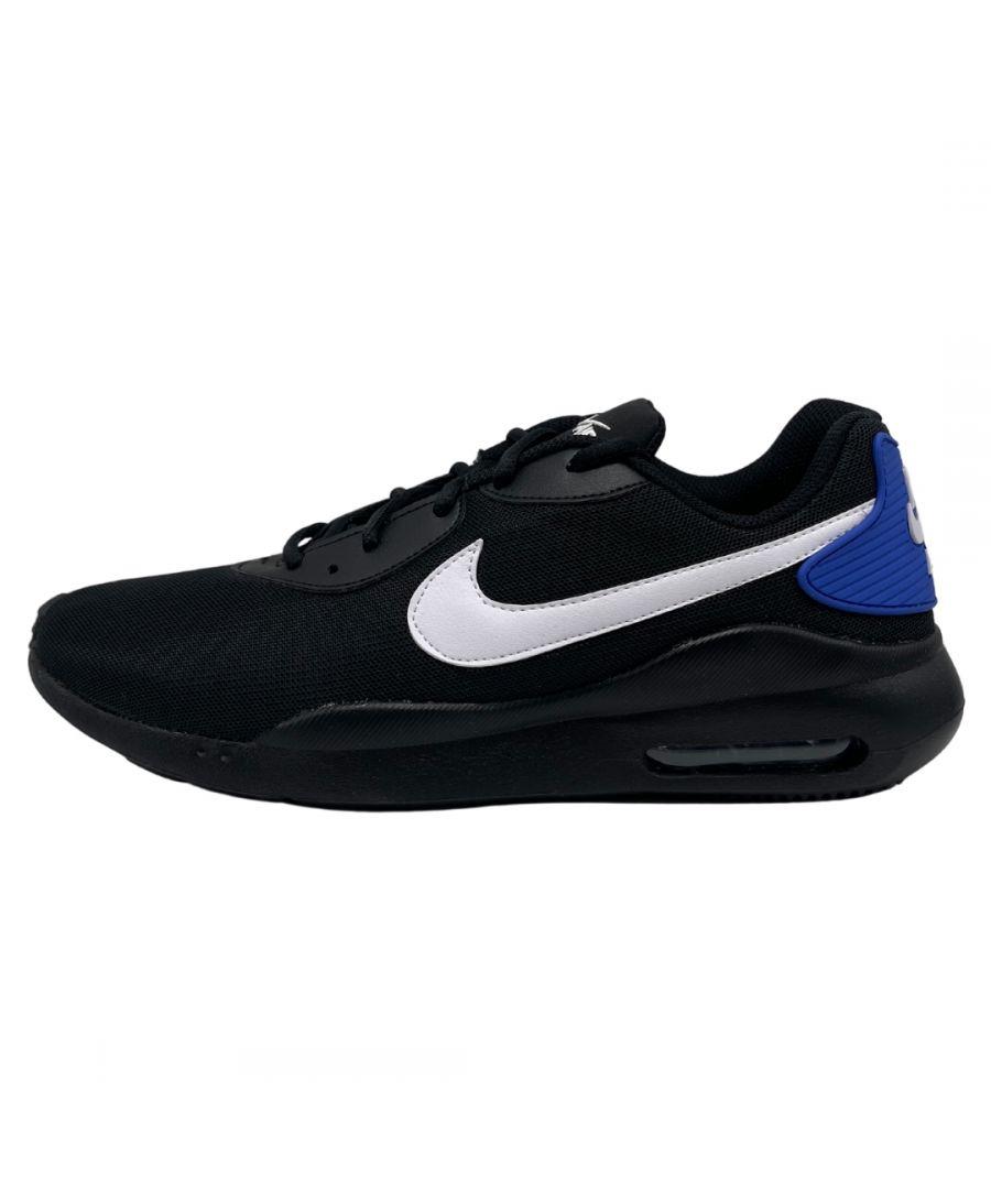 Image for Nike Air Max Oketo Black Sneakers