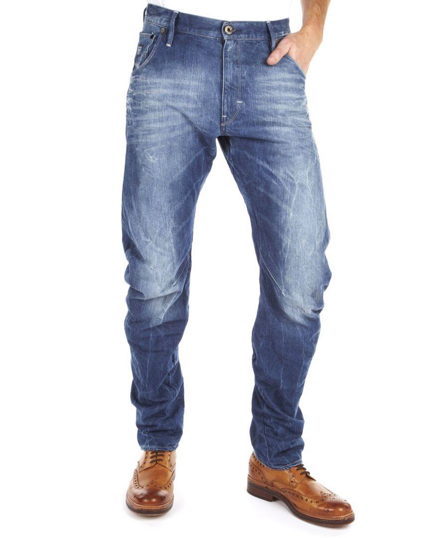 Image for G-Star Arc 3D Loose Tapered Medium Aged  Lifft Denim Jeans