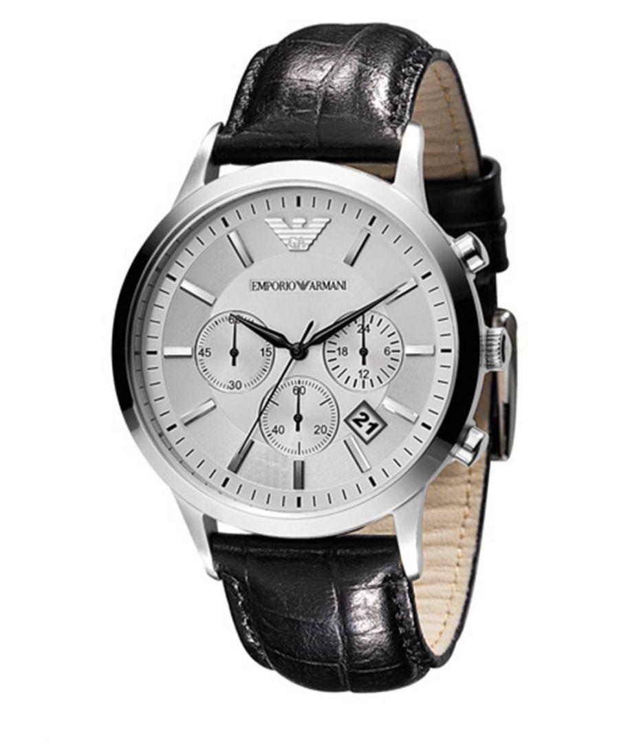 Image for Emporio Armani Mens' Chronograph Watch AR2432