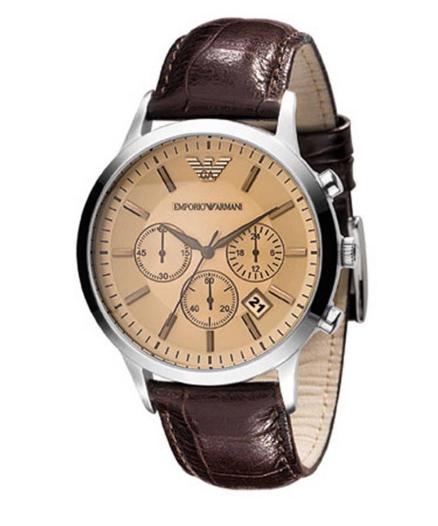 Image for Emporio Armani Mens' Chronograph Watch AR2433