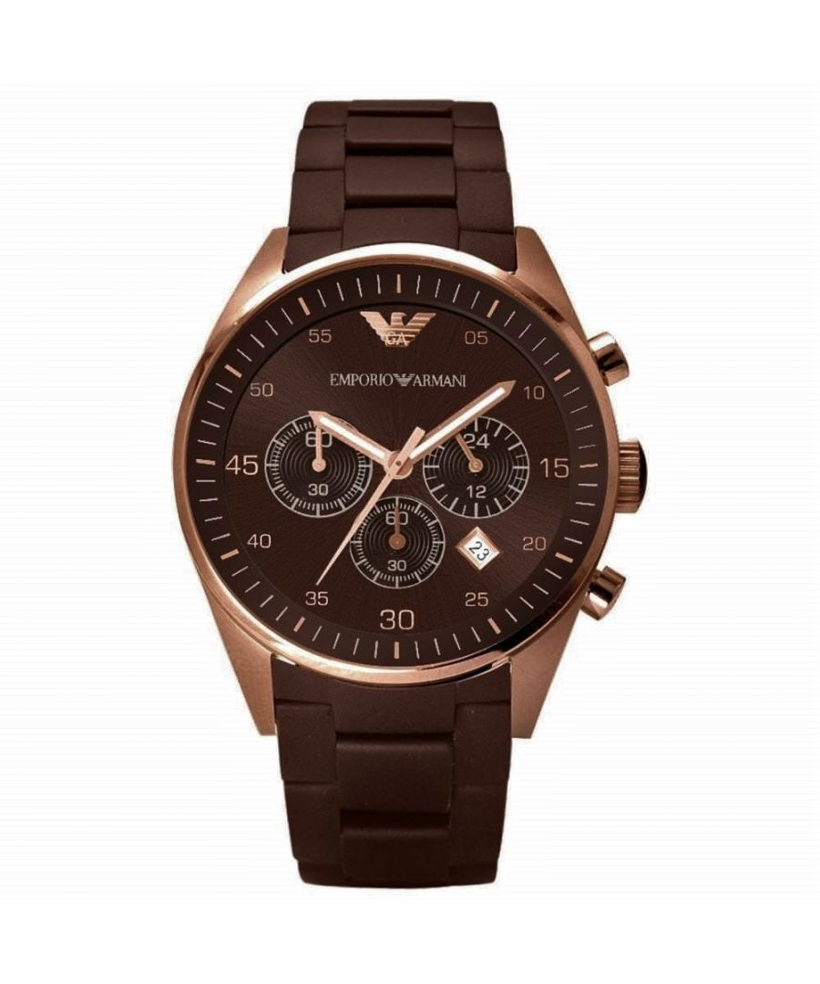 Image for Emporio Armani Mens' Chronograph Watch AR5890