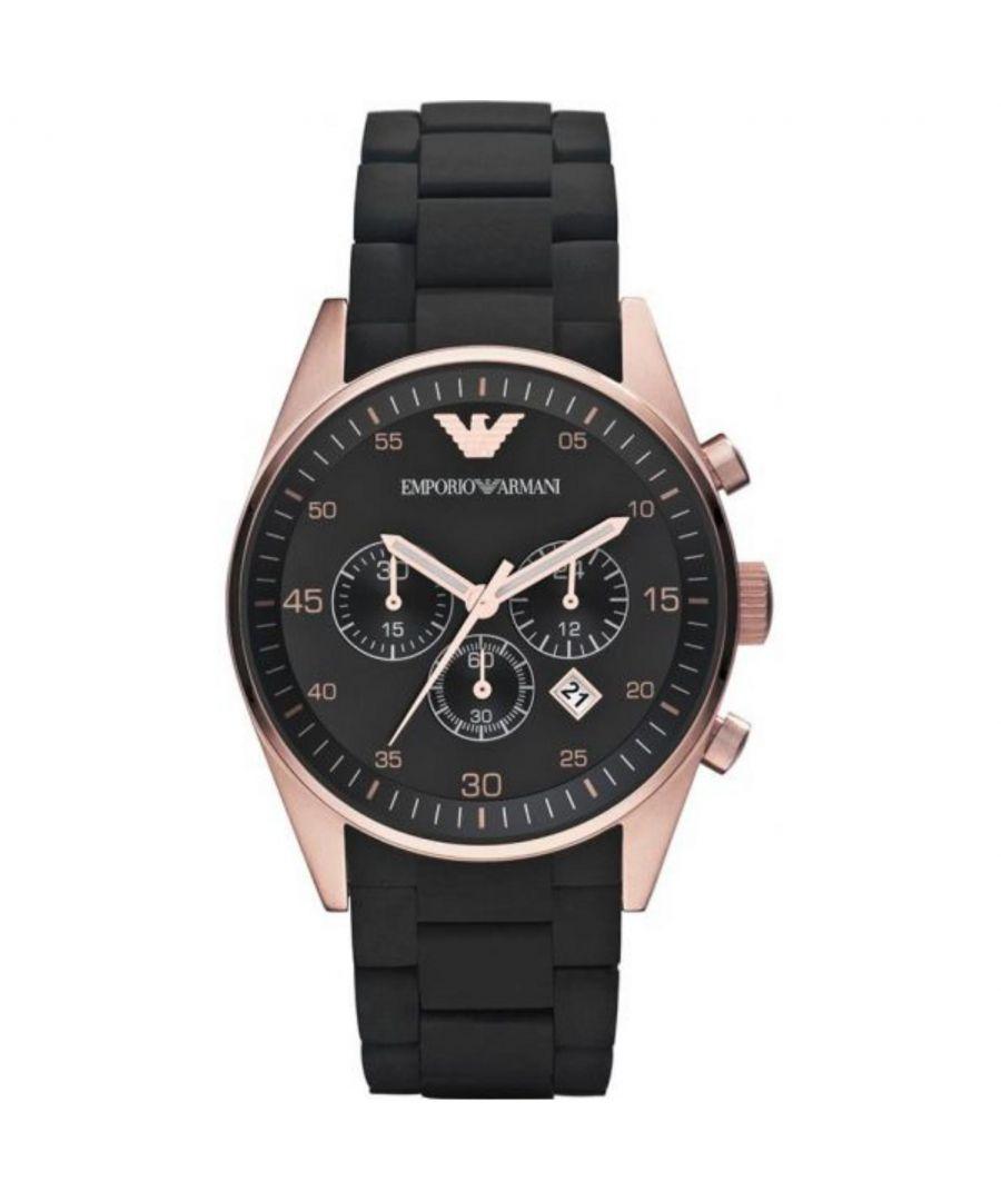 Image for Emporio Armani Mens' Chronograph Watch AR5905