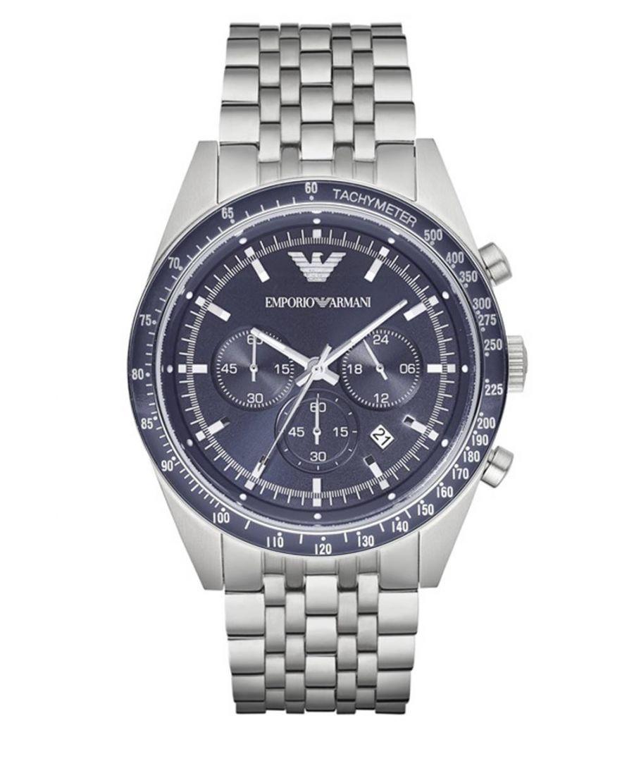 Image for Emporio Armani Mens' Chronograph Watch AR6072