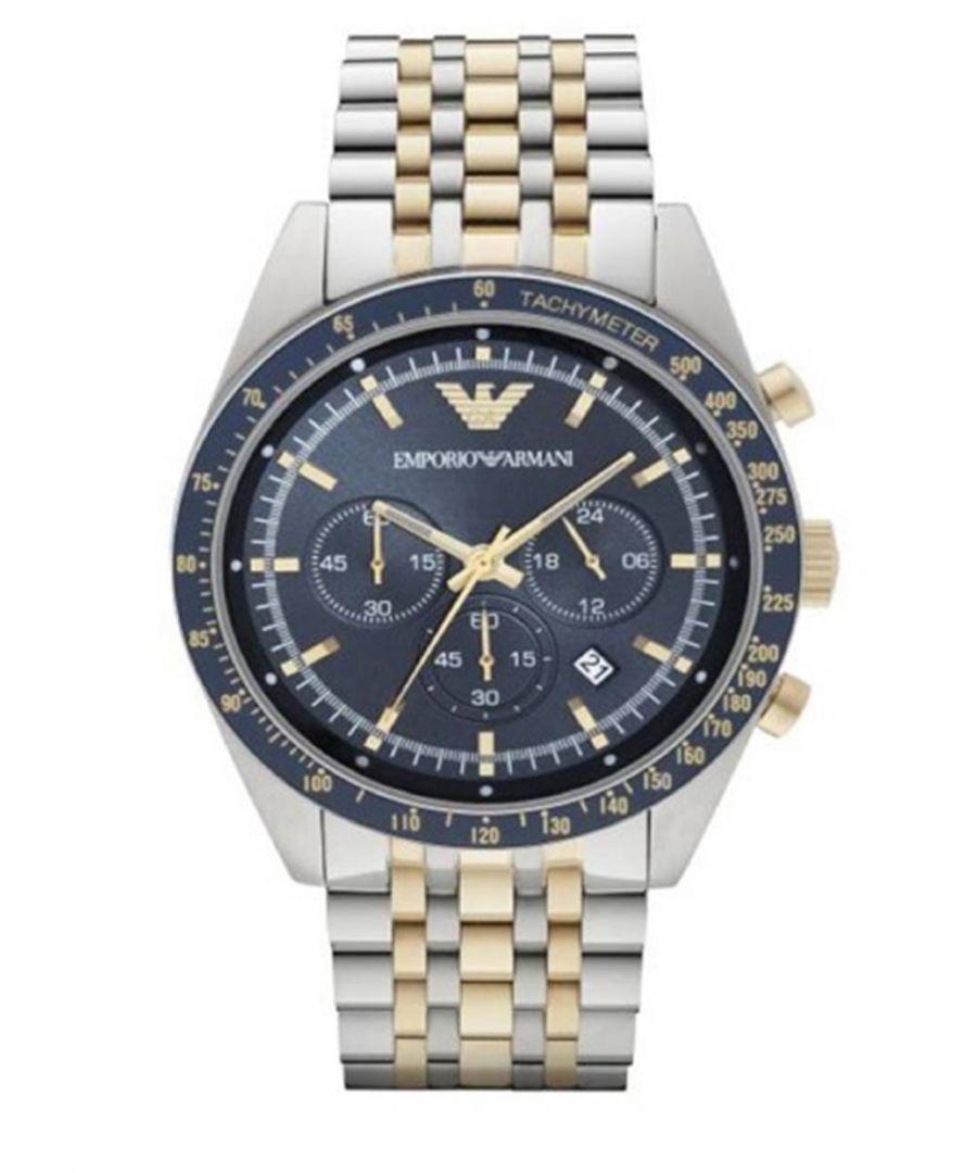 Image for Emporio Armani Mens' Chronograph Watch AR6088