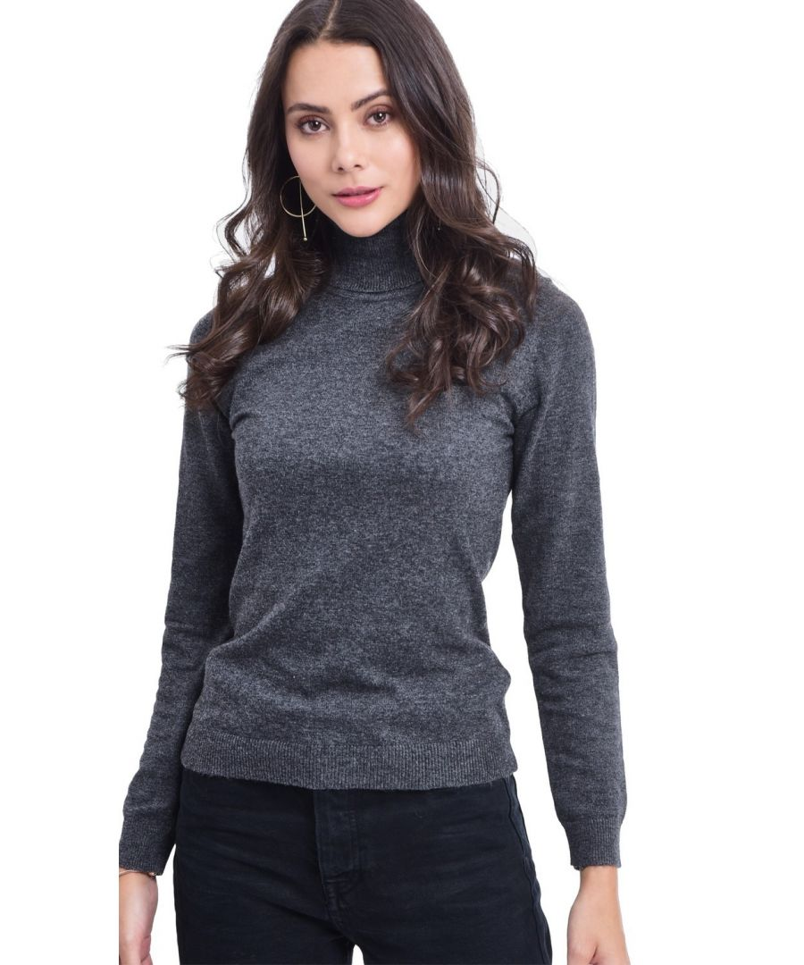 Image for Assuili Turtleneck Sweater in Grey