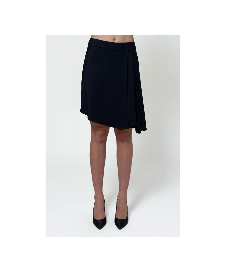 Image for Asymmetric Mini Skirt