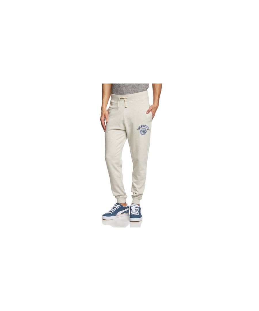Image for Jack and Jones Athletic CUFFED Exp White Sweat Pants