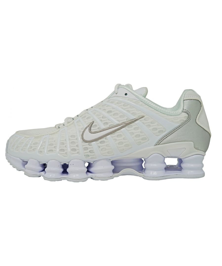 Image for Nike Shox TL Running White Shoes