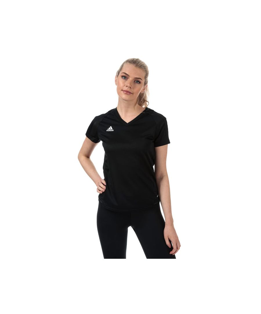 Image for Women's adidas Tiro 17 Training T-Shirt in Black