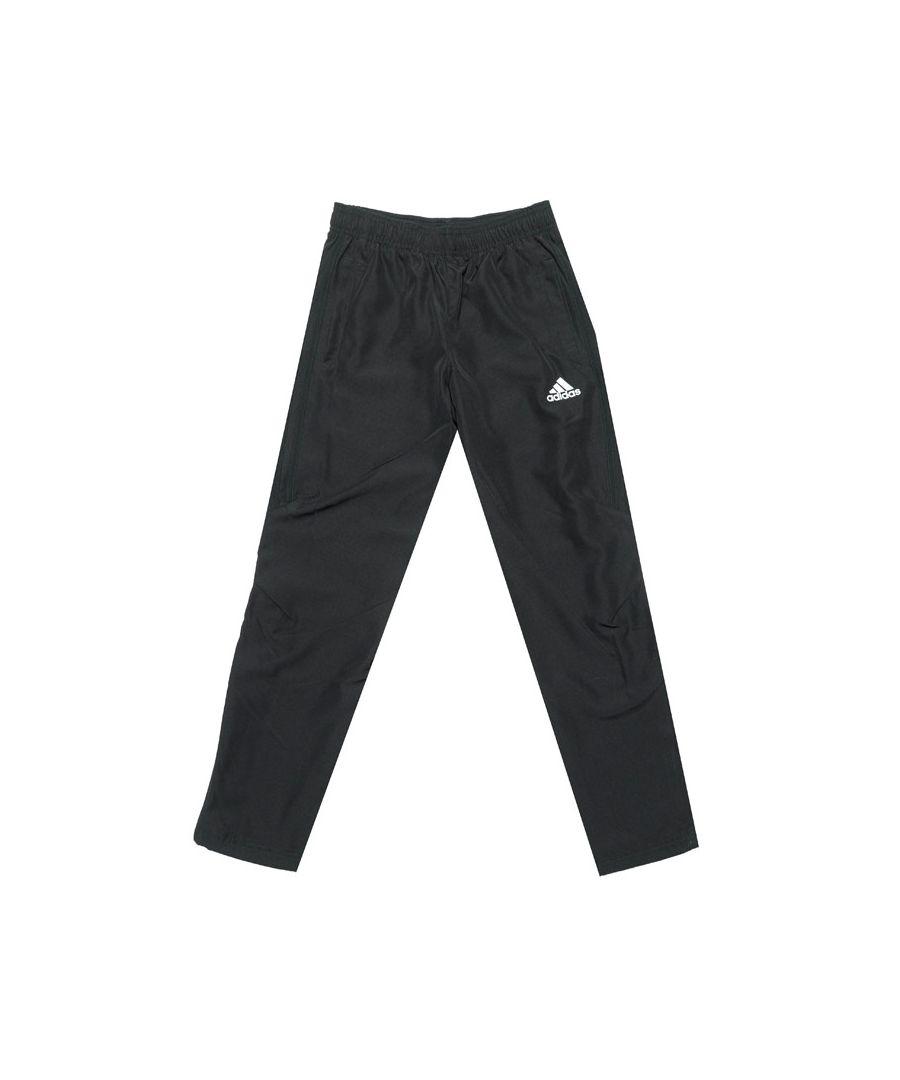 Image for Boy's adidas Junior Tiro 17 Woven Pants in Black