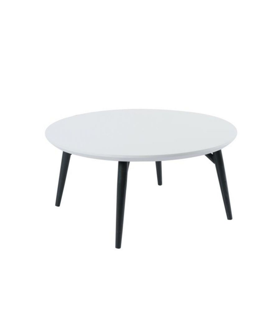 Image for Orbit Circular Coffee Table with a Light Grey Matt Finish