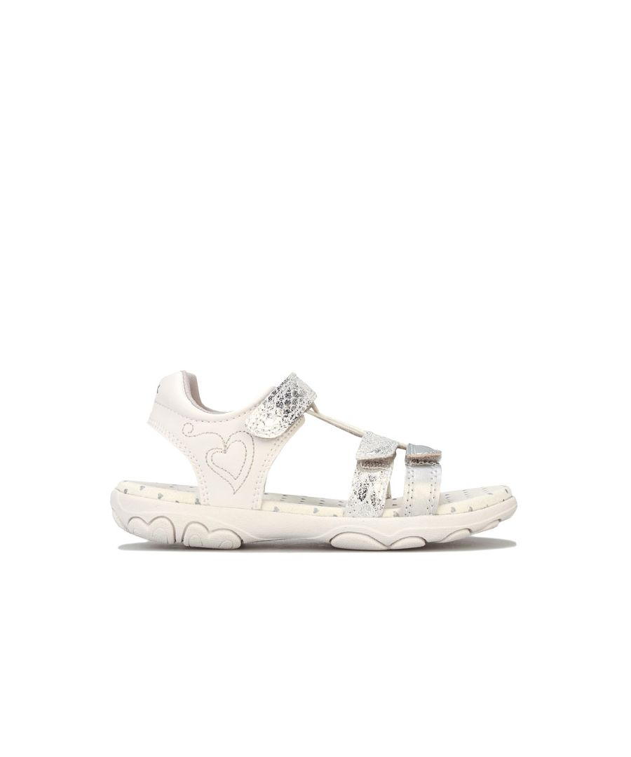 Image for Girl's Geox Children Cuore Sandal in Silver