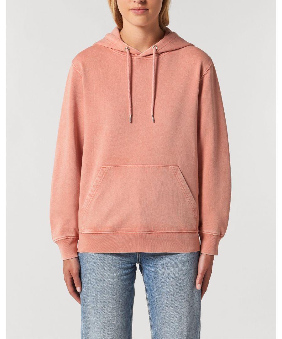 Image for Mandala Unisex Vintage Hoodie Sweatshirt in Peach
