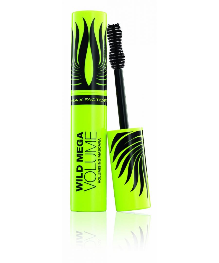 Image for Max Factor Wild Mega Volume Volumising Black Mascara 11ml