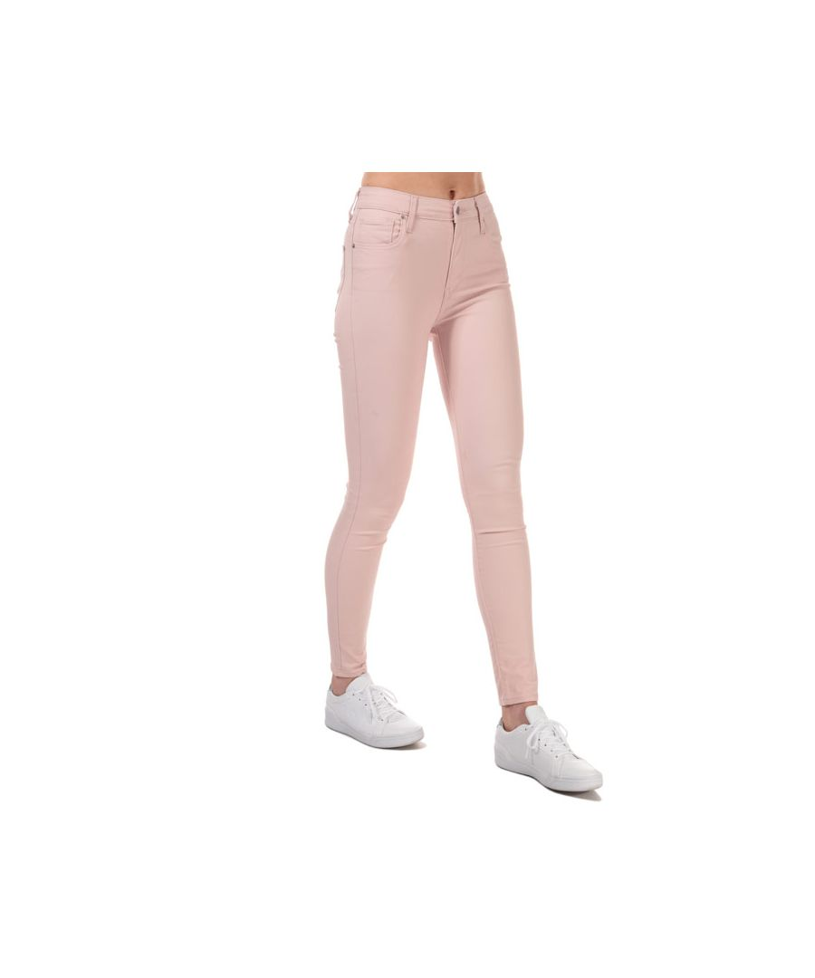 Image for Women's Levi's 721 High Rise Skinny Hypersoft Jeans In Rose