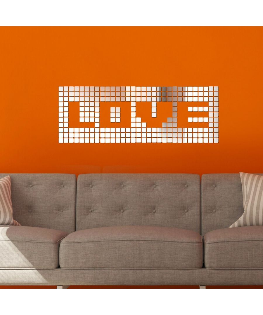 Image for Mosaics Mirror Wall Art  Self Adhesive DIY Wall Art, Wall Art Living Room, Mirror Wall Art