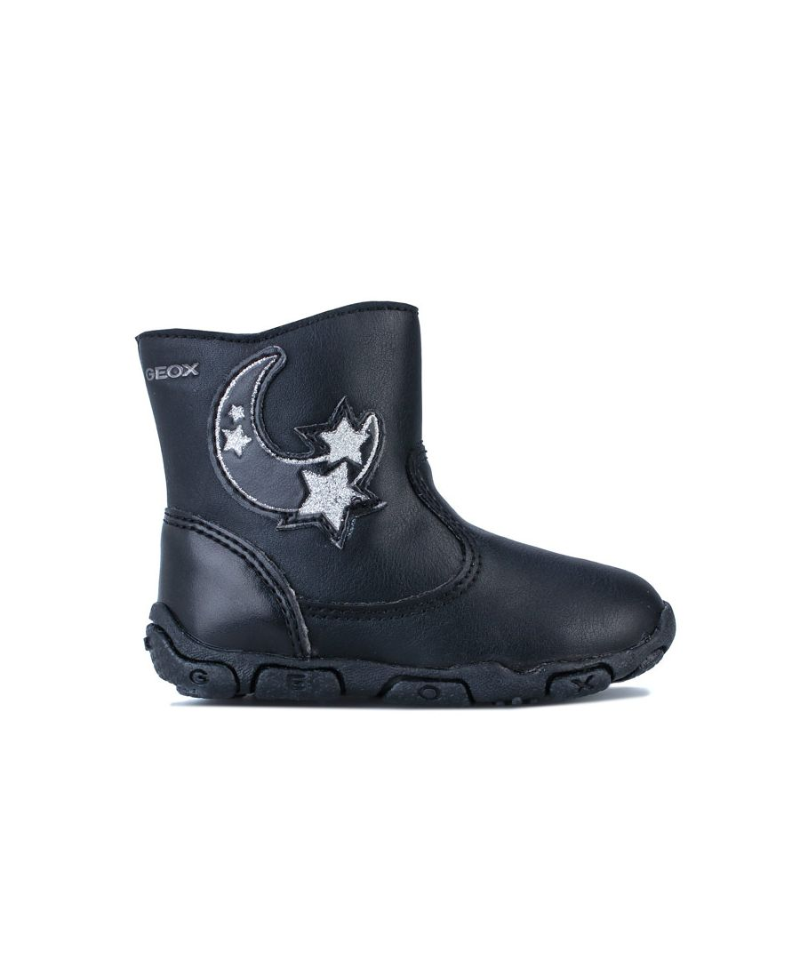 Image for Girl's Geox Infant Balu Boots in Black