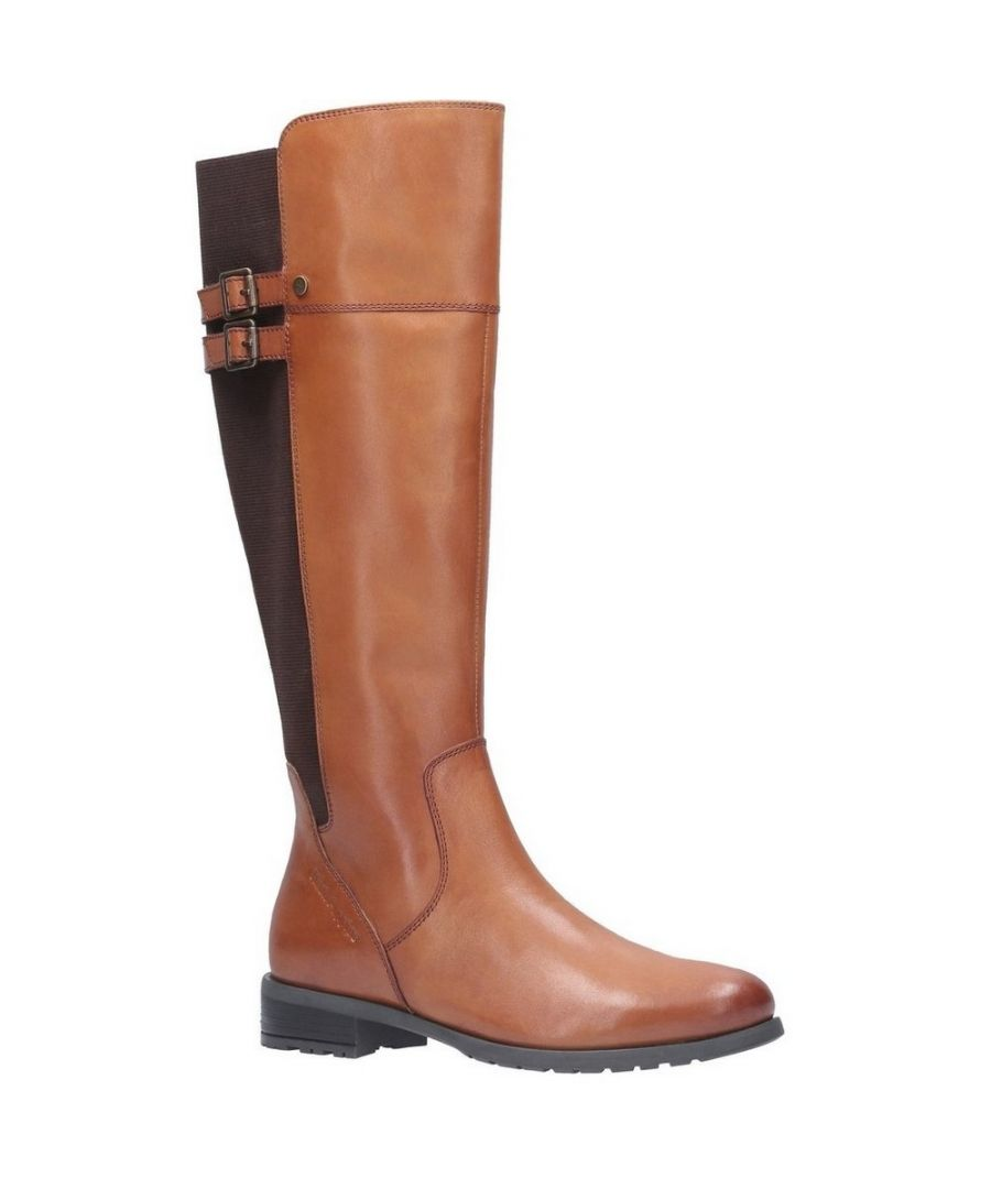 Image for Hush Puppies Women's Arla High Leather Boots (Tan)