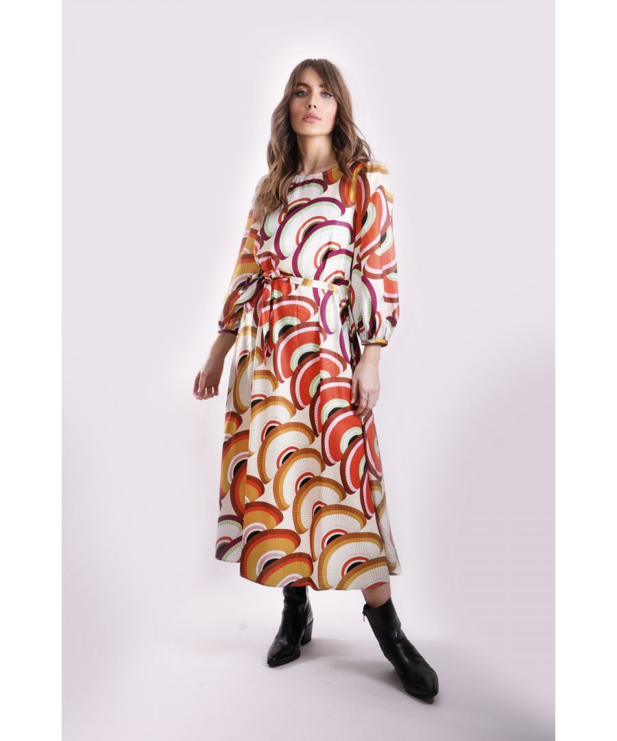Image for Geometric Printed Willow Dress