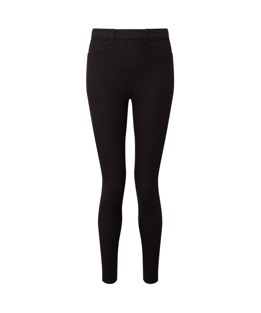 Image for Asquith & Fox Womens/Ladies Classic Fit Jeggings (Black)
