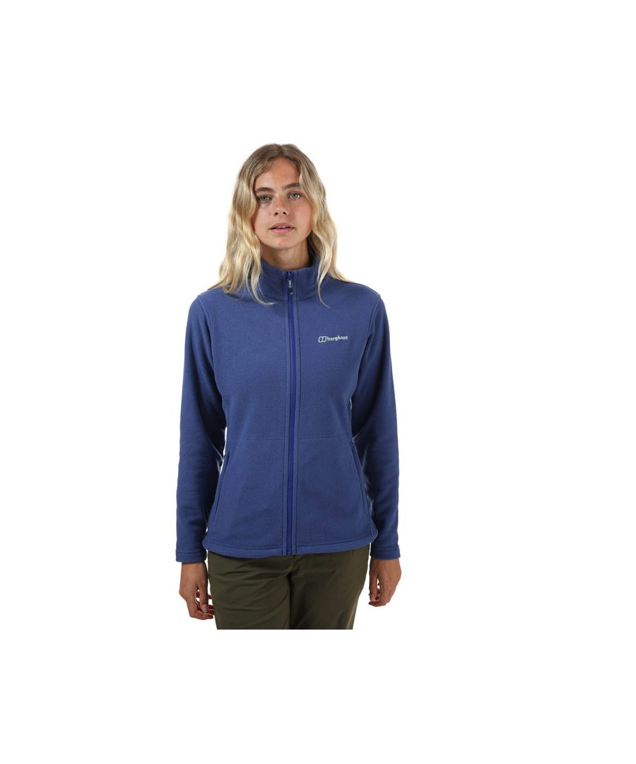 Image for Women's Berghaus Bampton 3.0 Interactive Fleece Jacket in Purple