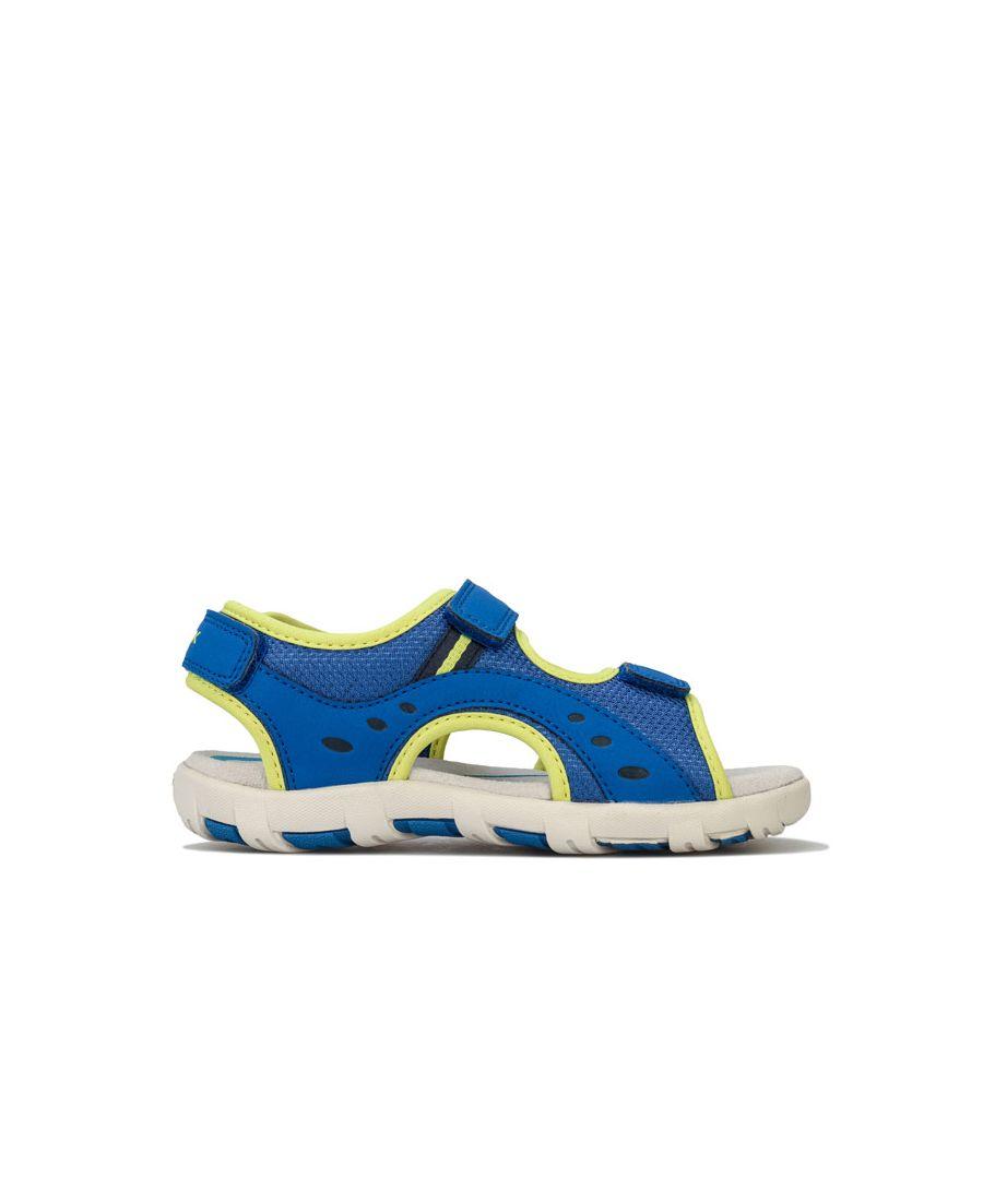 Image for Boy's Geox Junior Pianeta Sandal in Royal Blue