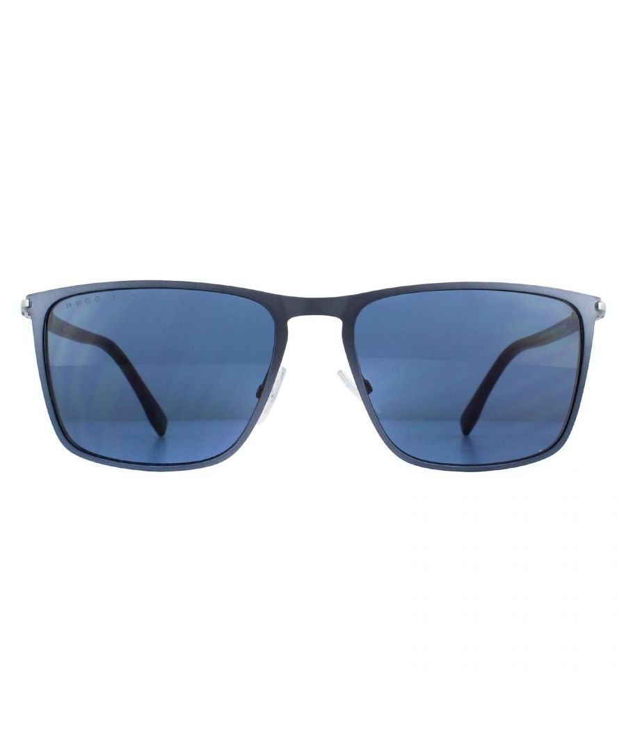Image for Hugo Boss Sunglasses BOSSS 1004/S FLL KU Matte Blue Blue