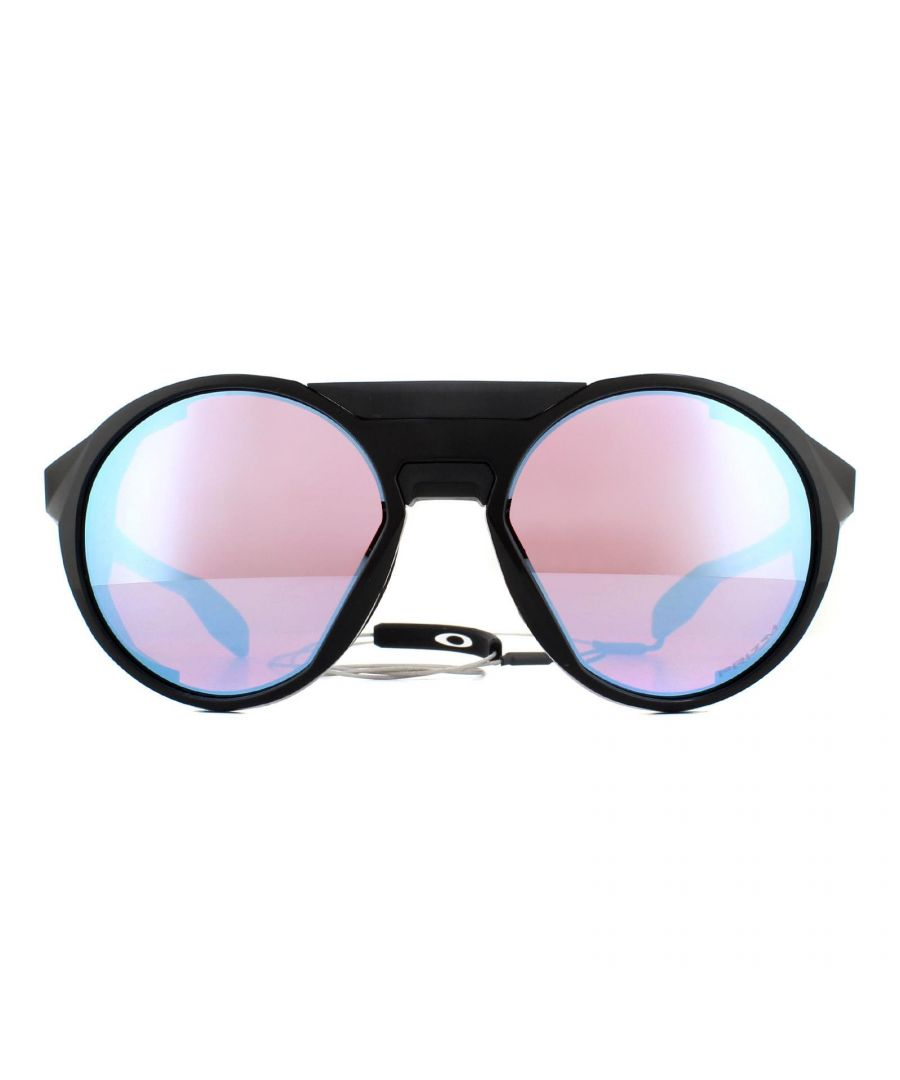 Image for Oakley Sunglasses Clifden OO9440-02 Polished Black Prizm Snow Sapphire