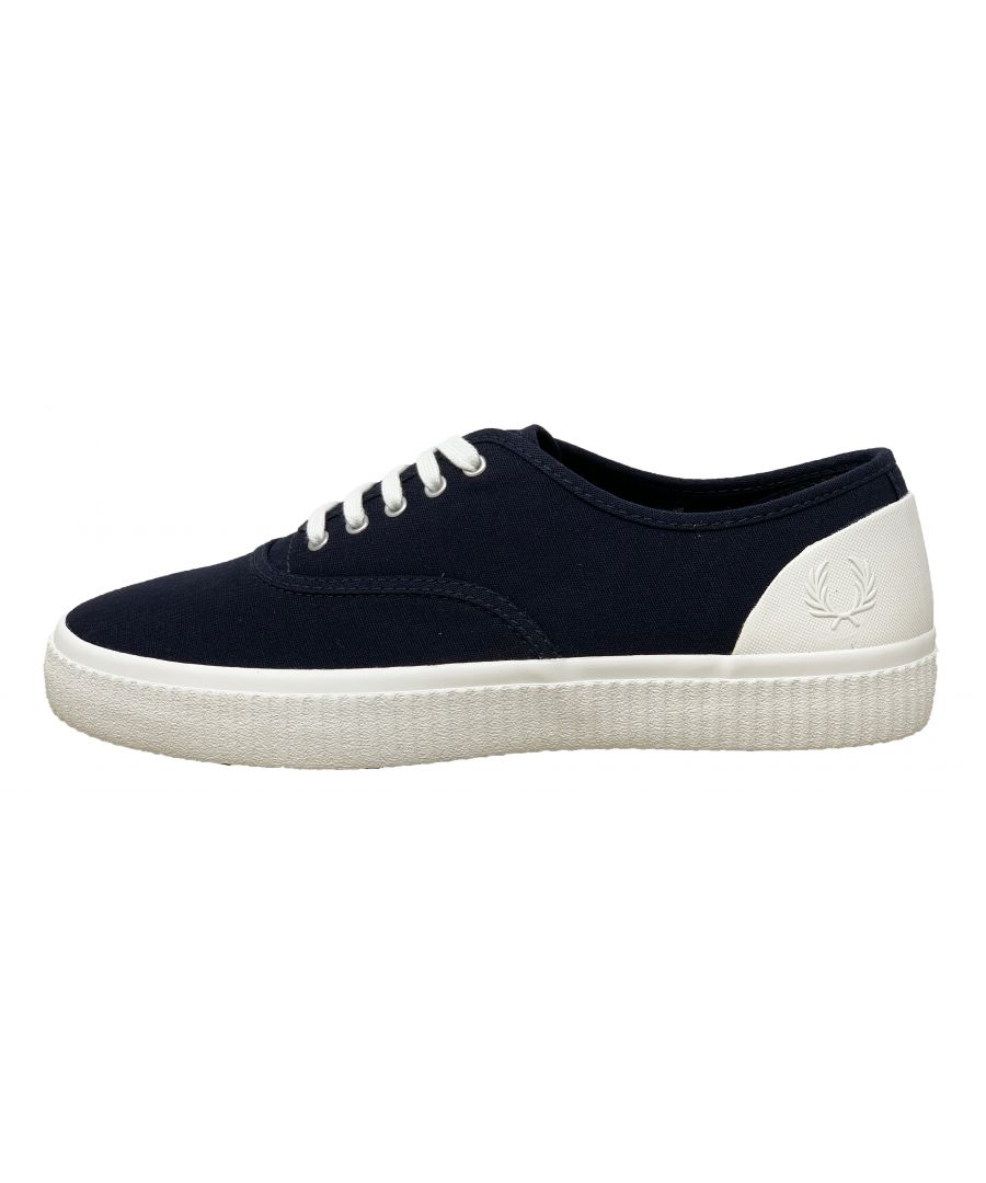 Image for Fred Perry B2060 608 Barson Canvas Trainers