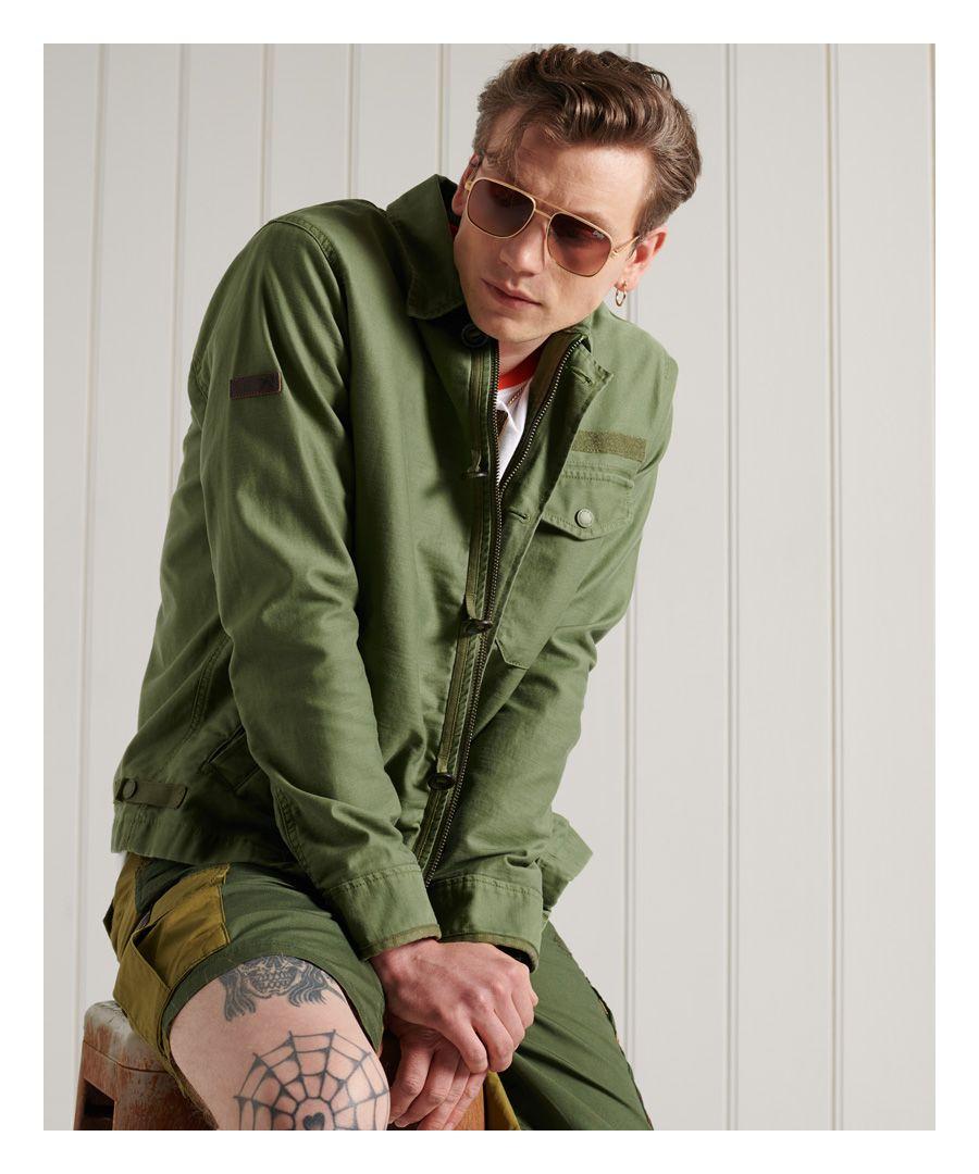 Image for SUPERDRY Crafted Deck Jacket
