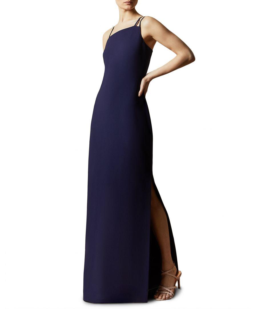 Image for Ted Baker Sannsa Strap Detail Maxi Dress, Navy