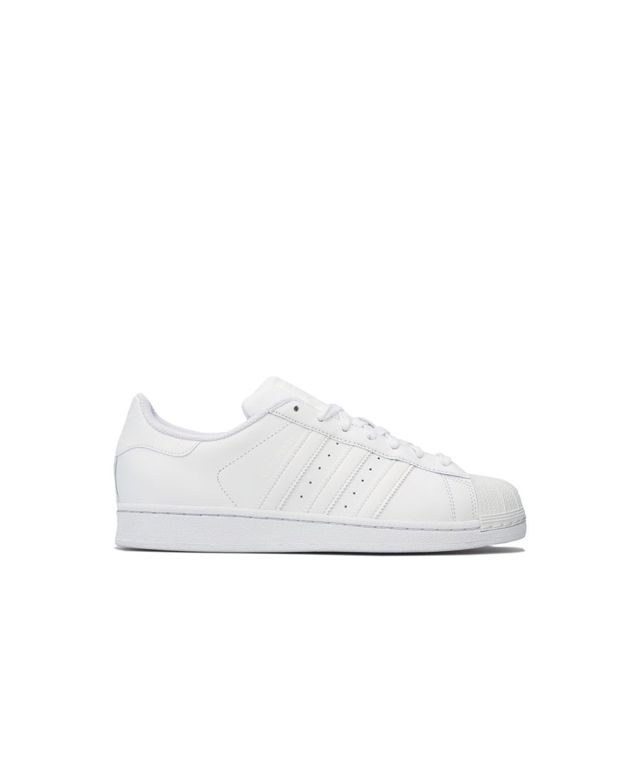 Image for Men's adidas Originals Superstar Foundation Trainers in White