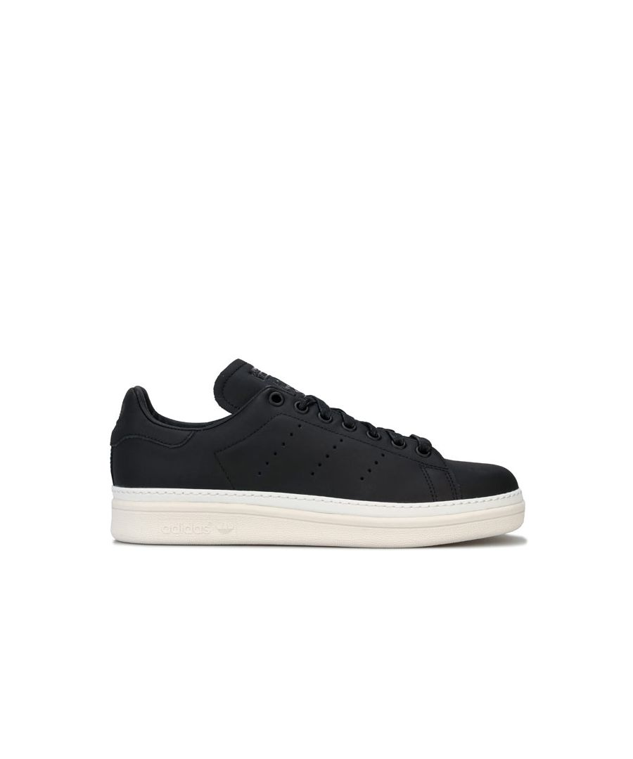 Image for Women's adidas Originals Stan Smith New Bold Trainers in Black