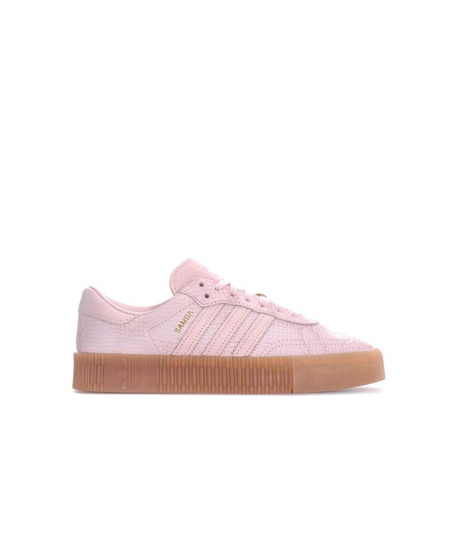 Image for Women's adidas Originals Sambarose Trainers in Pink