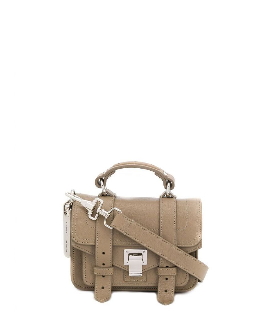 Image for PROENZA SCHOULER WOMEN'S H000902078 BEIGE LEATHER HANDBAG