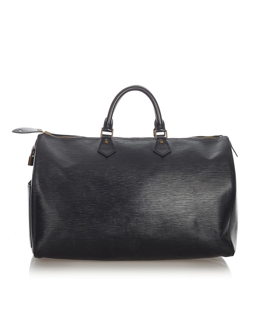 Image for Vintage Louis Vuitton Epi Speedy 40 Black