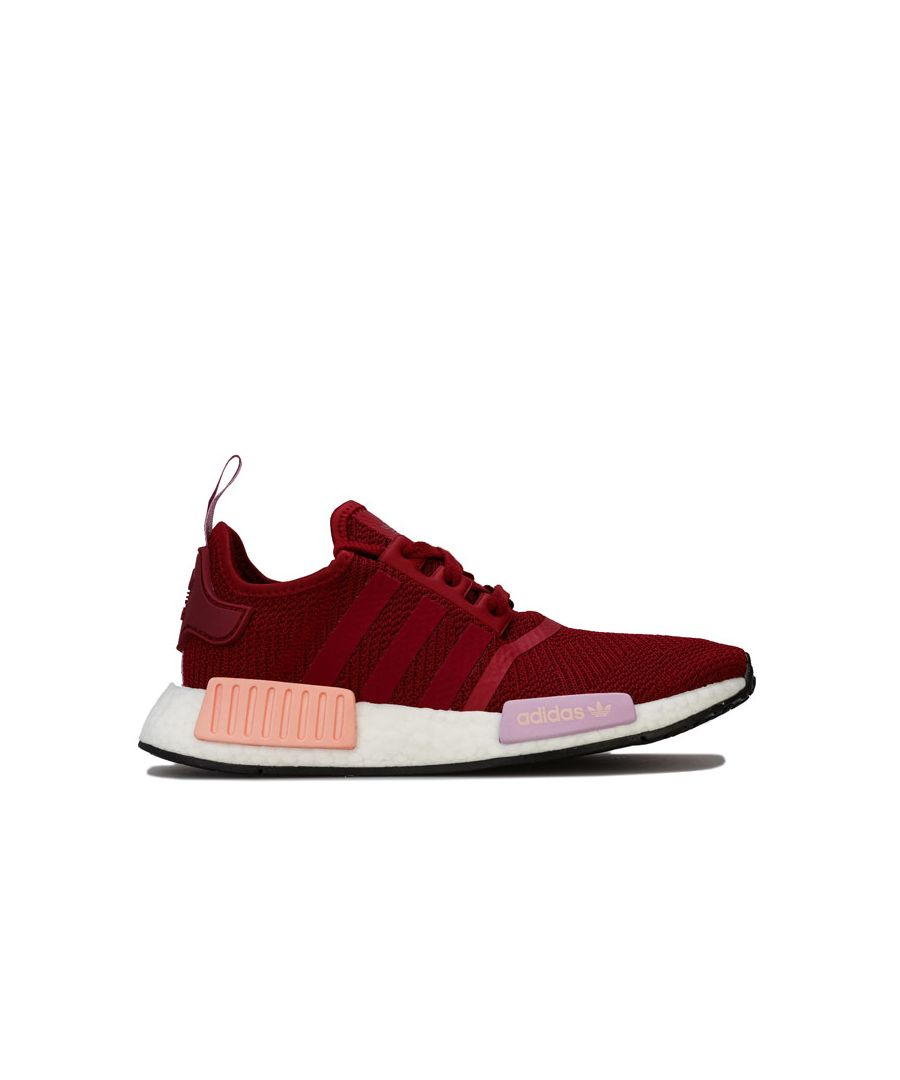 Image for Women's adidas Originals NMD_R1 Trainers in Burgundy