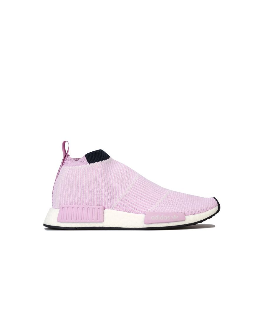 Image for Women's adidas Originals NMD_CS1 Primeknit Trainers in Lilac