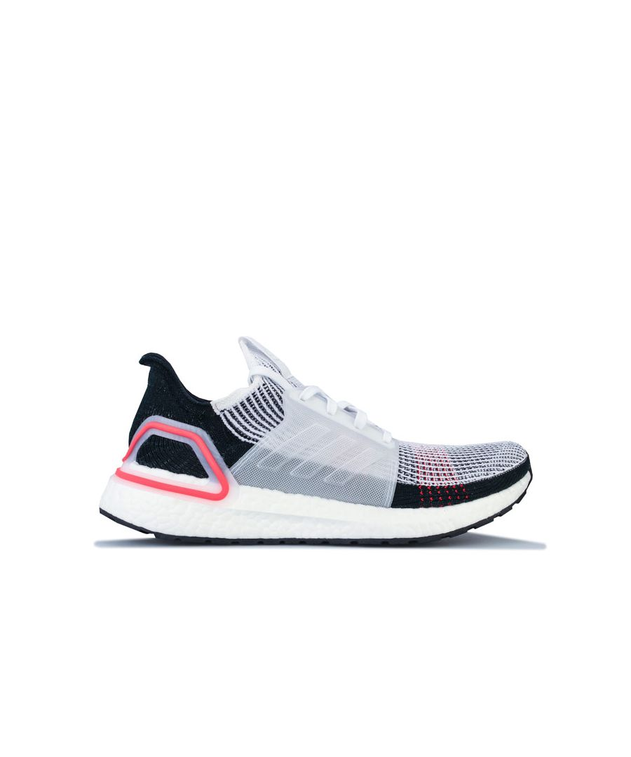 Image for Men's adidas Ultraboost 19 Running Shoes in White